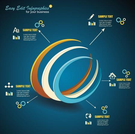 Vector 3d Symbol/ business communication / network technology Vetores