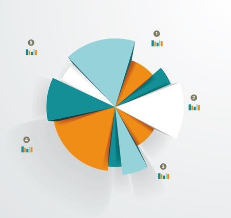 gestion documental: Business chart pastel de documentos e informes para los documentos, informes, gráfico, infografía, plan de negocios, la educación