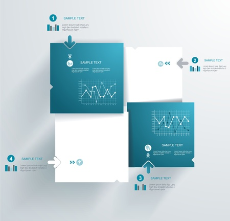 tipografia: Plantilla de dise�o moderno se puede utilizar para la infograf�a