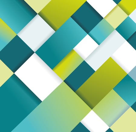 Abstract distortion from rhomb shape background - seamless  Can be used for graphic or website layout vector  Vector