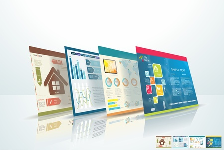 ic�ne logiciel: concept de design Web Illustration