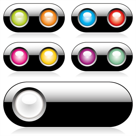 web buttons for website or app