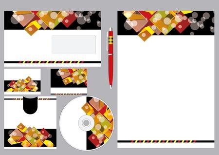 bage: Editable corporate Identity template