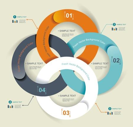 Business-Abstract Circle icon Unternehmenskommunikation, Medien, Technologie Arten Logo-Design-Vorlage