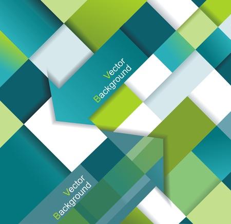 Plantilla de diseño moderno se puede utilizar para infografías banderas numeradas Ilustración de vector