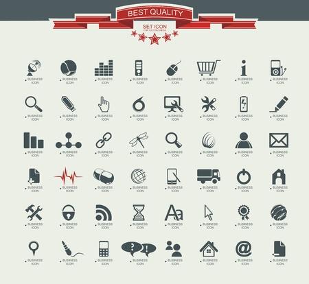 calendario escolar: Calidad icon set (Servicio M�dico, Medios de comunicaci�n, m�vil, web, Iconos de camping, mariposa) Vectores