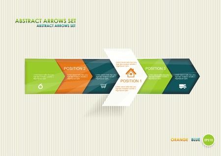 Modernes Design Minimal Art Infografik Vorlage kann für Infografiken, Zeiger, nummeriert Banner, Website-Design verwendet werden