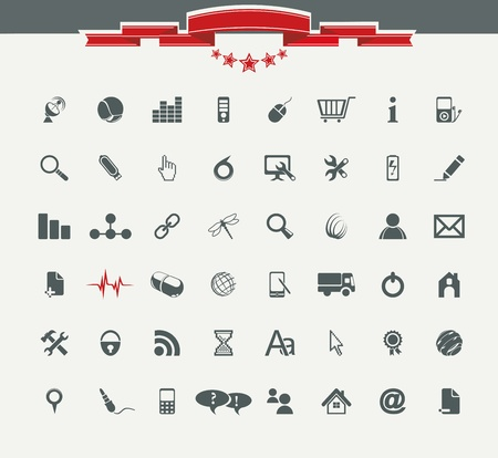 information technology icons: Quality icon Set