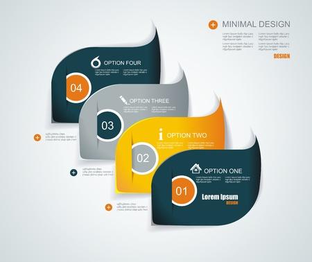 flysheet: Modern infographics template style.