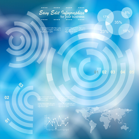 touch screen interface: Modern virtual technology background