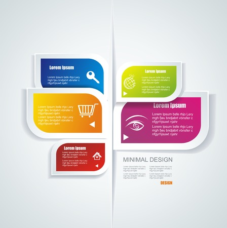 Moderne Sprechblase Template-Stil kann für die Workflow-Layout verwendet werden, Diagramm, Anzahl Optionen, step up Optionen, Web-Design, Banner-Vorlage, Infografik