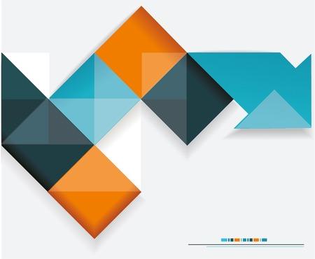 Modernes Design. Kann für Bucheinband, Grafiken verwendet werden, Layout, Inhalt Seite.