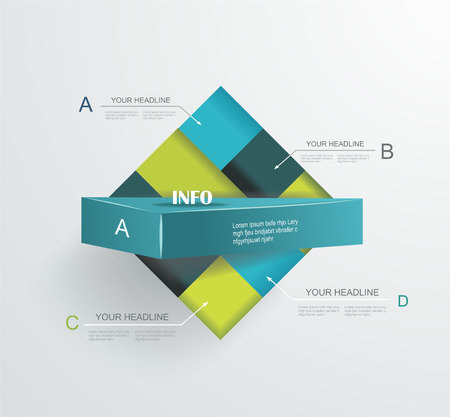 Abstract modern frame for business futuristic design.