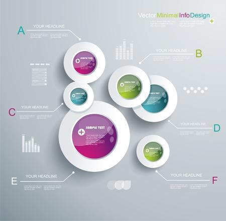 Infographic Elemente, IT Branche Design