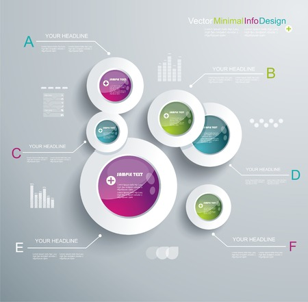 color chart: Infographic Elements, IT Industry Design