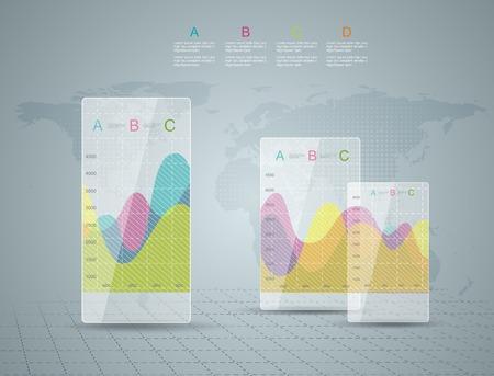 Infographic Elements, IT Industry Design   Vector