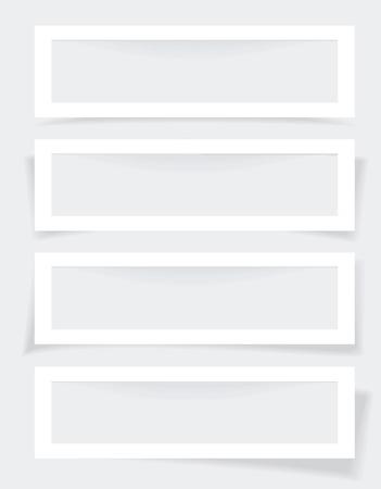 advertiser: Set di frame con diverse ombre
