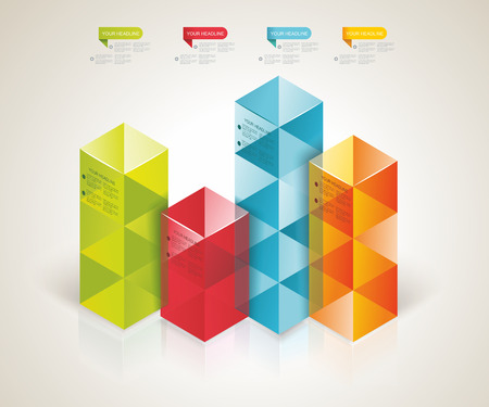 web design banner: Modern Design template isometric style. Can be used for workflow layout; diagram; number options; step up options; web design; banner template; infographic.  Illustration