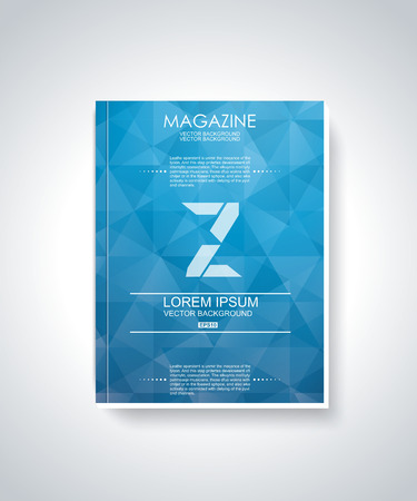 brochure cover design: Brochure cover design vector template