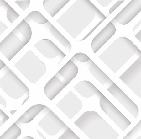 Naadloze geometrische patroon. Monochroom cellulaire structuur. Herhalende achtergrond
