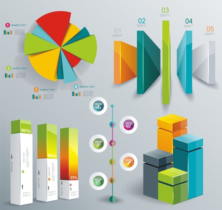 time line: Modern infographics set. Diagram and Time Line design. Vector