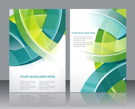 Website header or banner set. EPS 10. Illustration