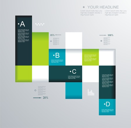 Modern design. Can be used for Book cover, Graphics, Lay out, Content page.  Vector