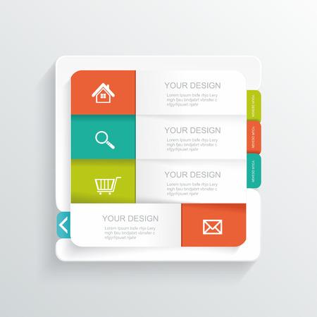 Modern Design template.  Vector