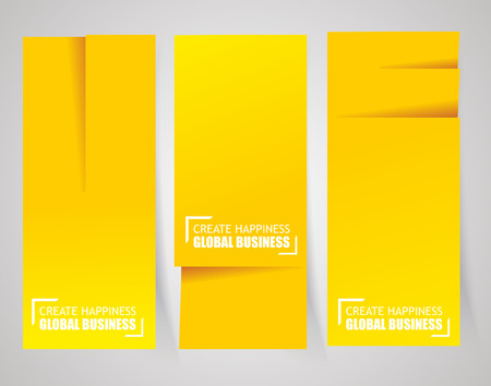 vertical dividers: Paper cut, stitch and perforation dividers vector template. Illustration