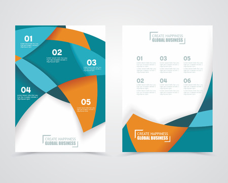 Geometric design vector business banners Vector
