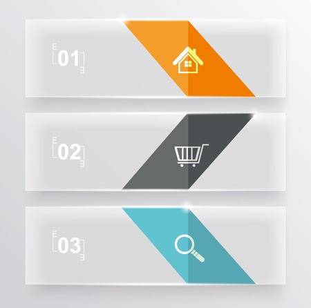 orginal: Set of glass banners.Can use to display information, ranking and statistics with orginal and modern style.