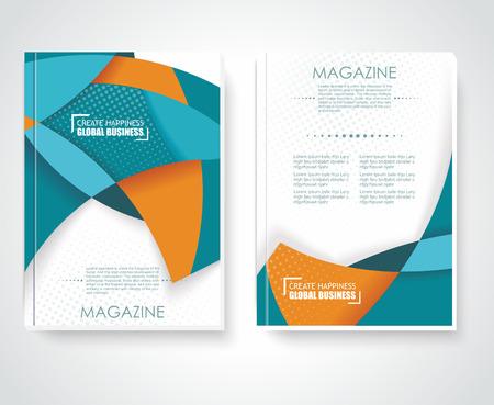 Geometric design vector business brochures, magazines, banners Vector