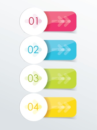 your text here: Polygonal origami ribbons. Place your text here Illustration
