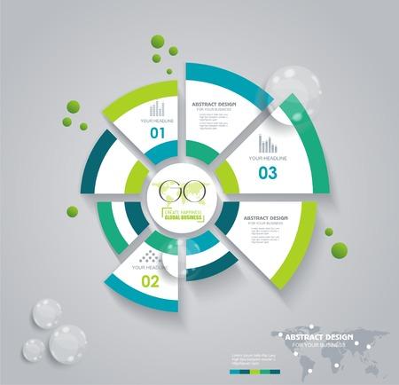 ecosistema: Gráfico de sectores de negocio para los documentos y los informes de documentos, informes, gráficos, infografía, plan de negocios, educación