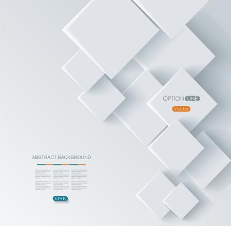 forme: Résumé forme géométrique de losange gris Illustration