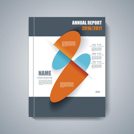 magazine design: Design of Magazine Cover Annual Report