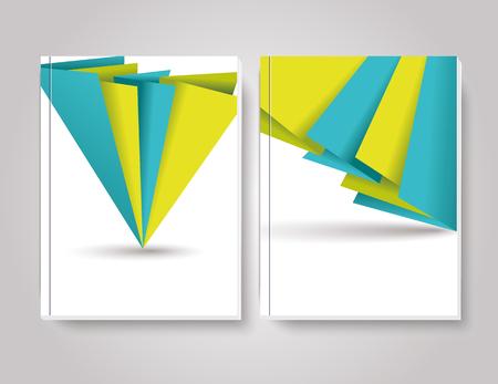 brochure cover design: Brochure cover design vector template Illustration