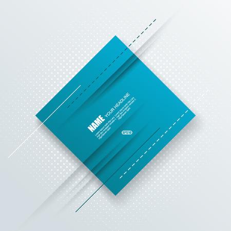 magazine cover: Vector brochure, flyer, magazine cover & poster template. Illustration