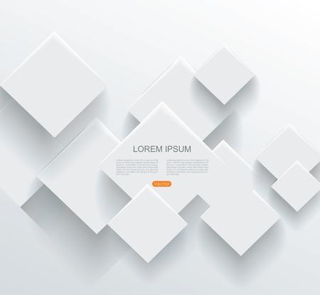 抽象的な幾何学的な用紙のベクトルの背景  イラスト・ベクター素材