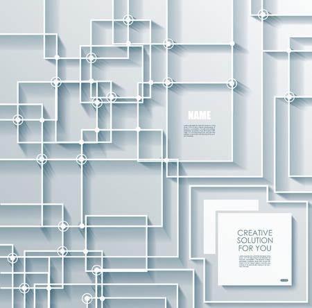 high tech: Abstract vector background with high tech scheme.