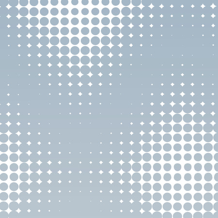 Geometrical pattern. Gradient of dots.  Repeating background texture. Vector illustration