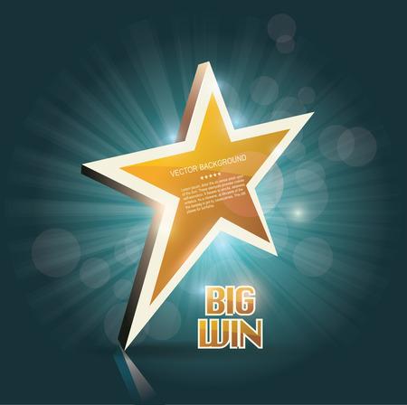 slot machines: Gran cartel de oro de victorias para el casino en línea, poker, ruleta, máquinas tragamonedas, juegos de cartas. vector plantilla de diseño.