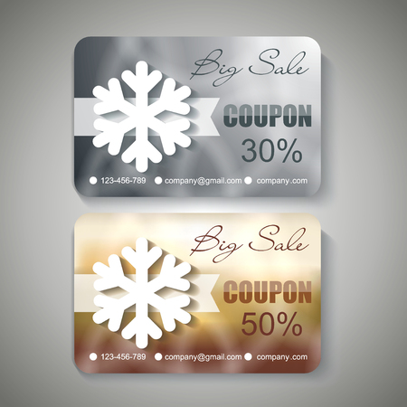 Silver and Gold Christmas Sale  Coupons.