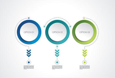 Diseño de banners de opción numérica, se puede utilizar para servicios en línea, sitios web y aplicaciones.
