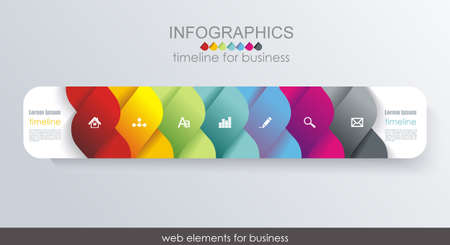 Business Design Template Option banners. Can be used for step lines, number levels, timeline, diagram, web design.
