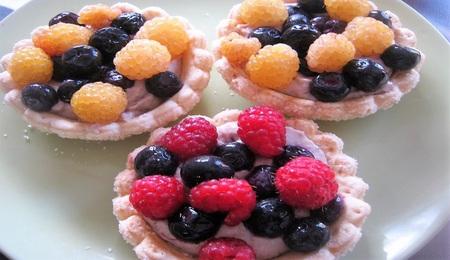 健康的なケーキ 写真素材