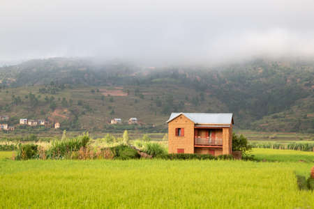 Editorial. The People and their homes on the island of Madagascar