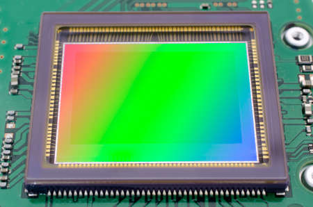 The image sensor of Dslr camera