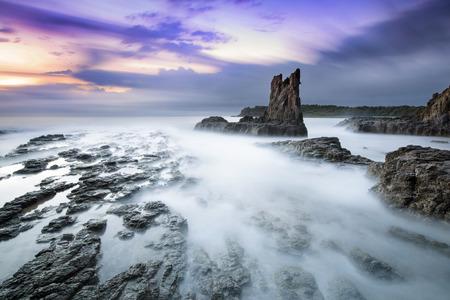 kiama: Cathederal Rocks
