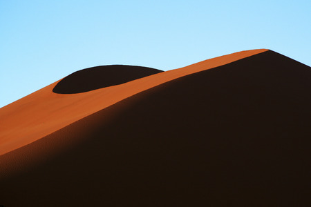 luderitz: Sand Dune Stock Photo
